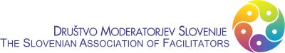 Društvo moderatorjev  Slovenije Logo